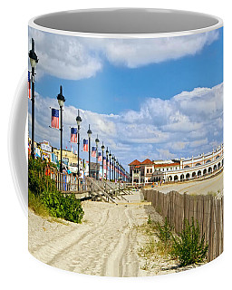 Boardwalk And Music Pier Coffee Mug