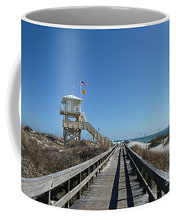 Boardwalk At Ponce Coffee Mug