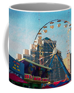 Boardwalk Ferris  Coffee Mug by Alice Gipson