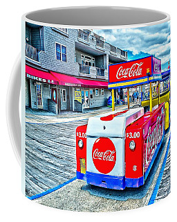Boardwalk Tram  Coffee Mug
