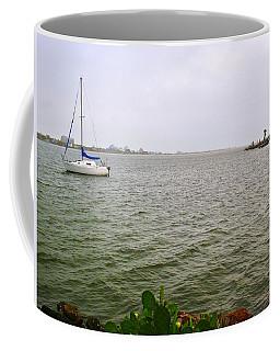 Boat And Catcus Coffee Mug