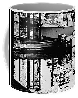 Boat Harbor Rhapsody Coffee Mug by Carol F Austin