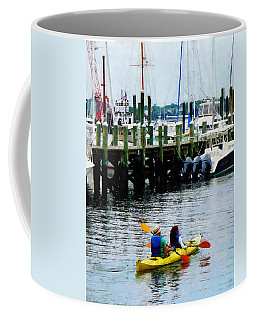 Boat - Kayaking In Newport Ri Coffee Mug
