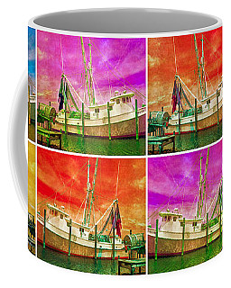 Boat Of A Different Color Coffee Mug