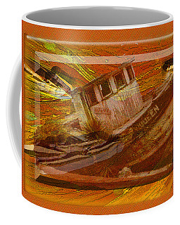 Boat On Board Coffee Mug by Larry Bishop