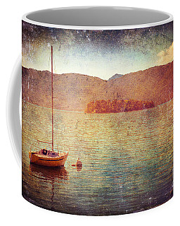 Boat On Lake Maggiore Coffee Mug