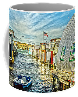 Boathouse Alley Coffee Mug by William Norton