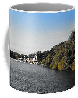 Coffee Mug featuring the photograph Boathouse II by Photographic Arts And Design Studio