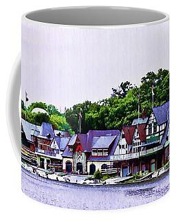 Boathouse Row Panarama Coffee Mug