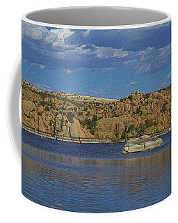Boating At The Dells Coffee Mug