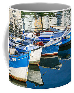 Boats At Anchor Coffee Mug