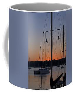 Boats At Beaufort Coffee Mug