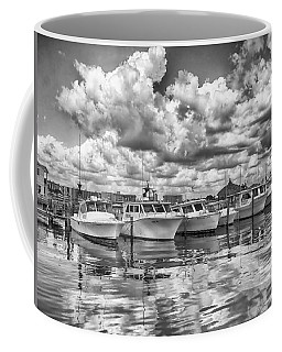 Coffee Mug featuring the photograph Boats by Howard Salmon