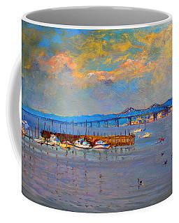 Boats In Piermont Harbor Ny Coffee Mug