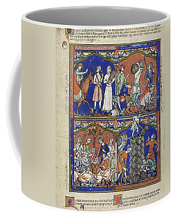 Boaz Sees Ruth Gleaning In His Field Coffee Mug