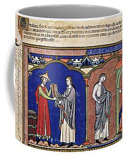 Boaz Sends Ruth Away With Six Measures Coffee Mug