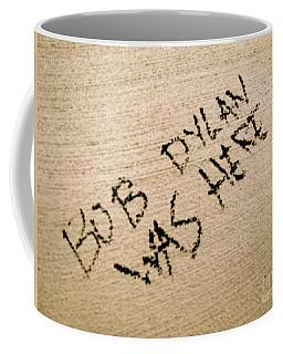 Bob Dylan Graffiti Coffee Mug