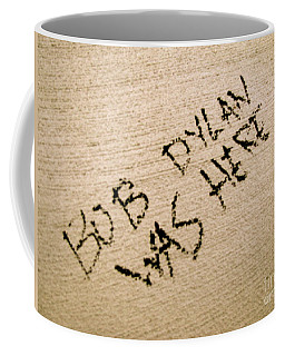 Bob Dylan Graffiti Coffee Mug