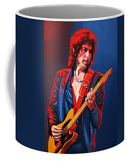 Bob Dylan Painting Coffee Mug