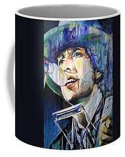 Bob Dylan Tangled Up In Blue Coffee Mug