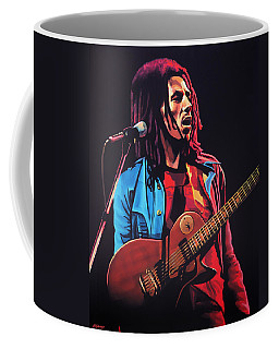 Bob Marley 2 Coffee Mug by Paul Meijering