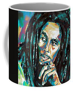 Bob Marley Watercolor Portrait.7 Coffee Mug