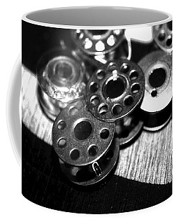 Bobbins 2 Bw Coffee Mug