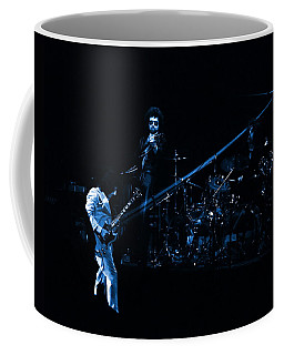 Boc #4 Lasers In Blue Coffee Mug