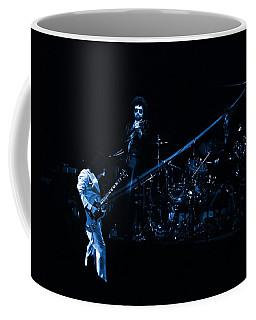 Boc #4 Lasers In Blue Coffee Mug