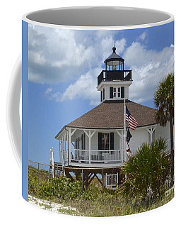 Boca Grande Lighthouse Coffee Mug by Carol  Bradley