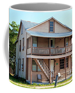 Coffee Mug featuring the photograph Bodden House by Amar Sheow