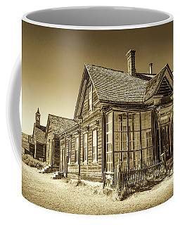 Coffee Mug featuring the photograph Bodie Ghost Town by Susan Leonard