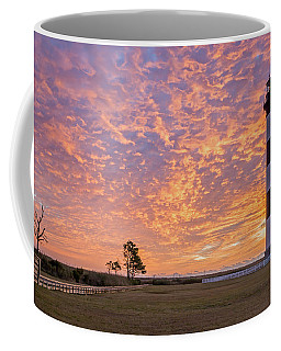 Bodie Island Lighthouse At Sunrise Coffee Mug by Photographic Arts And Design Studio