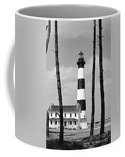 Bodie Island Lighthouse In The Outer Banks Coffee Mug