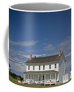 Coffee Mug featuring the photograph Bodie Lighthouse Obx by Greg Reed