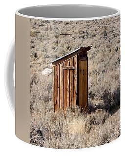 Bodie Outhouse Coffee Mug
