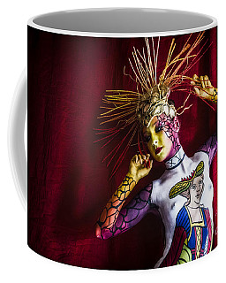 Coffee Mug featuring the photograph Bodypainting by Traven Milovich