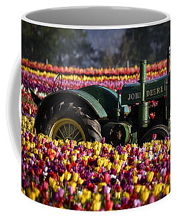Bogged Down By Color Coffee Mug by Wes and Dotty Weber