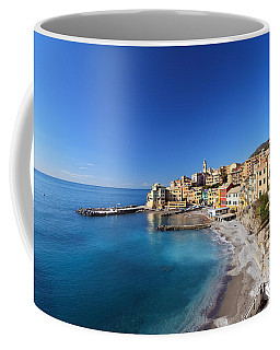 Bogliasco Village. Italy Coffee Mug by Antonio Scarpi