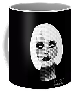 Bold Blonde Beauty Coffee Mug