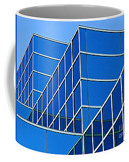 Boldly Blue Coffee Mug by Ann Horn