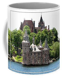Boldt Castle And Powerhouse Coffee Mug by Rose Santuci-Sofranko