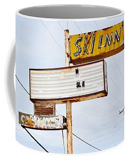 Bombay Beach Abandoned Ski Inn Coffee Mug