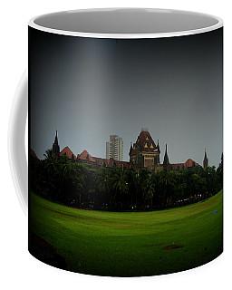 Coffee Mug featuring the photograph Bombay High Court by Salman Ravish
