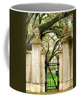 Bonaventure Cemetery Gate Savannah Ga Coffee Mug