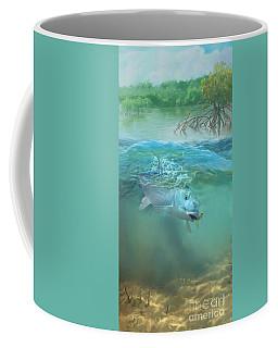 Bone Fish Coffee Mug