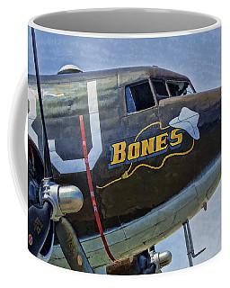 Coffee Mug featuring the photograph Bones by Steven Richardson