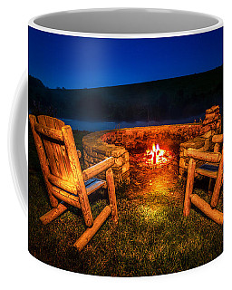 Bonfire Coffee Mug by Alexey Stiop