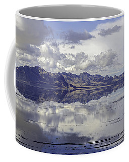 Coffee Mug featuring the photograph Bonneville Salt Flats by Susan Leonard