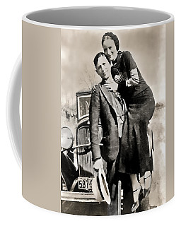 Bonnie And Clyde - Texas Coffee Mug